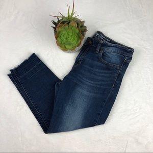 Gap Women's Straight Crop Capri Jean